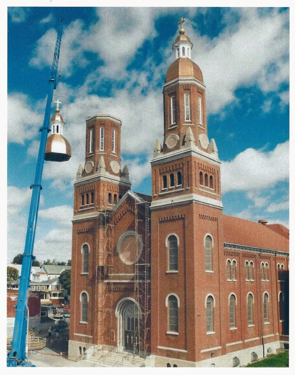 Assumption Church Josall Roofing